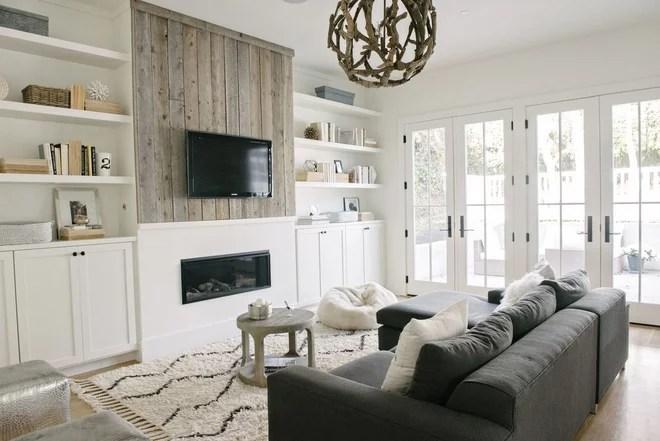 Beach Style Family Room by DesignDot