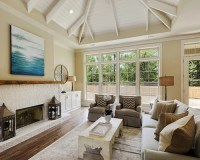 Beach Style New Orleans Living Room Design Ideas, Remodels