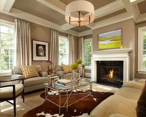 dark sofa decor cotton duck skirted slipcover neutral living room | houzz