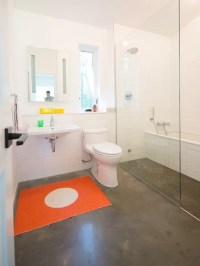 Concrete Bathroom Floors | Houzz