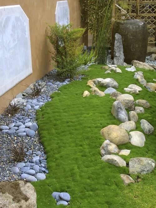 moss rock ideas remodel