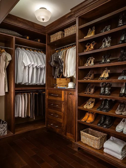 Organizing A Walk In Closet Home Design Ideas Pictures