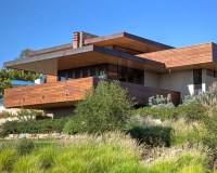 Frank Lloyd Wright Inspired Ranch House Plans
