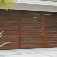 Shop Louvered Garage Door Products on Houzz
