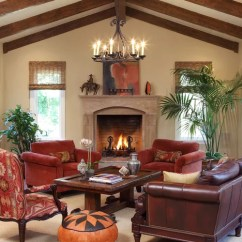 Living Room Ideas With Burgundy Leather Sofa New Style Home Design Ideas, Pictures, Remodel And Decor