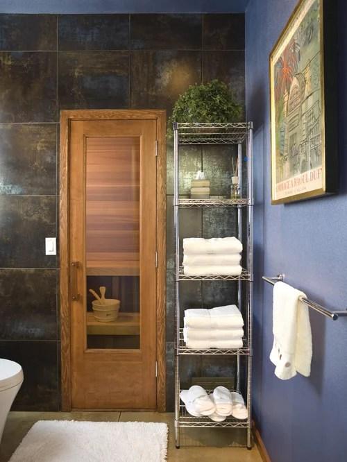 Small Sauna Home Design Ideas Pictures Remodel and Decor