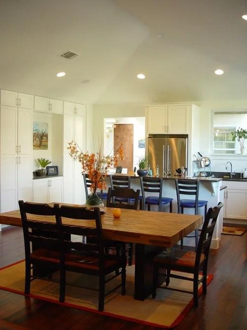 Example Trendy Eat Kitchen Design Austin White