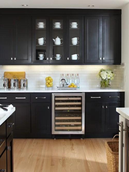 Black Cabinets  Houzz