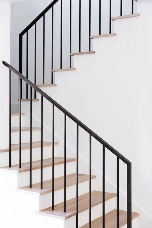 Modern Stair Railing Diy Help | Diy Modern Stair Railing | Wall Mount | Cable | Model Modern Staircase | Different Style | Contemporary