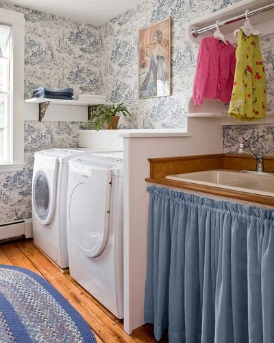 Traditional Laundry Room by David Sharff Architect, P.C.