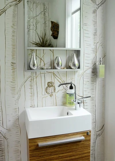 Eclectic Bathroom by Design Fixation [Faith Towers]