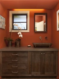 Terra Cotta Wall Color | Houzz
