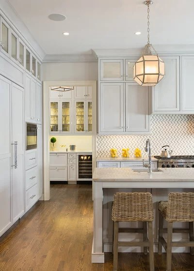 Transitional Kitchen by Thorsen Construction
