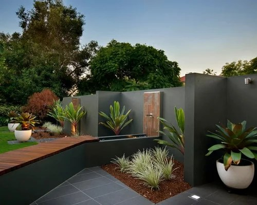 Best Feature Garden Wall Design Ideas & Remodel Pictures Houzz