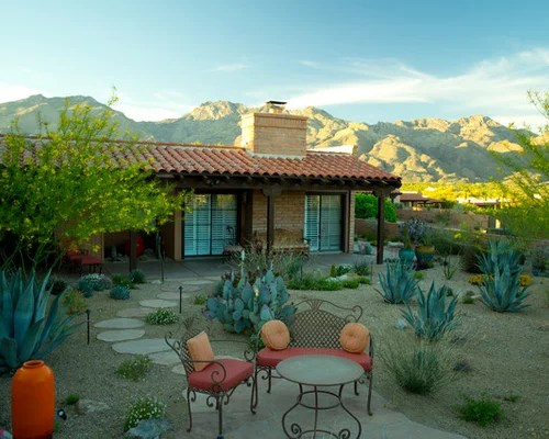 backyard desert landscaping