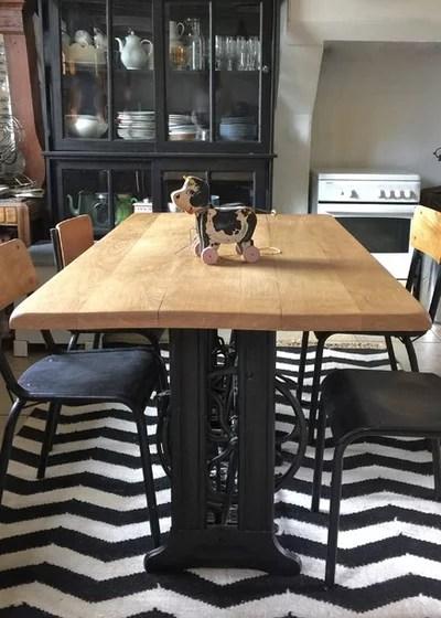 table de cuisine a rallonge