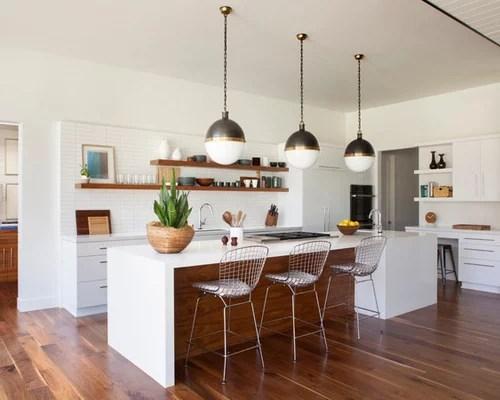 Midcentury Kitchen Design Ideas  Remodel Pictures  Houzz