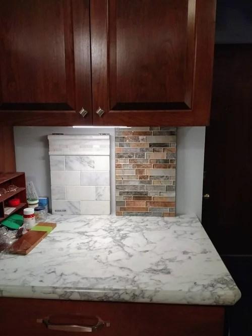 i need help choosing a backsplash tile