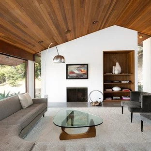 mid century modern living room wall units designs for in india 75 most popular midcentury design ideas 2019 library 1960s open concept concrete floor idea los angeles
