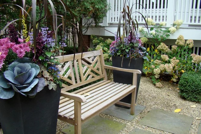 Contemporary Landscape by KMS Gardens and Design