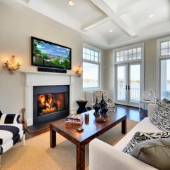 Living Room Paint Colors With Dark Hardwood Floors Double Chaise Lounge Sherwin Williams Grecian Ivory   Houzz