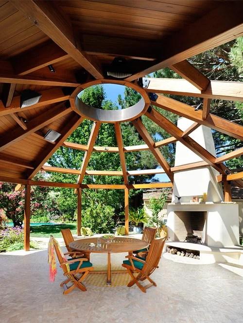 Half Circle Pergolas Home Design Ideas Pictures Remodel