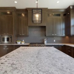 Changing Countertops In Kitchen Faucet Spout Grey Stained Maple | Houzz