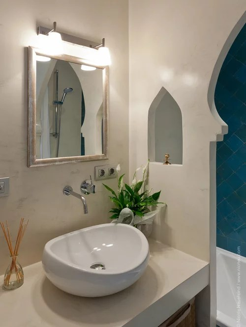 shelf ideas for living room curtain design moroccan style bathroom | houzz