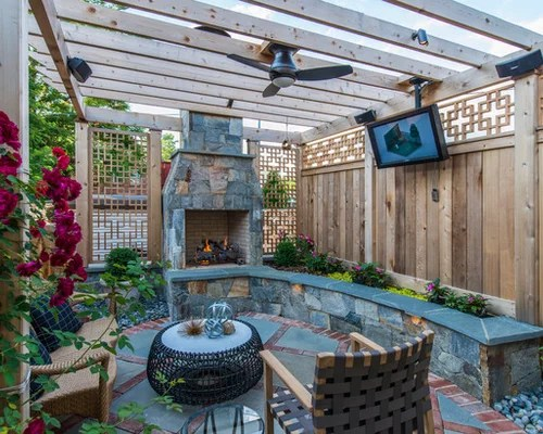 Small Terraced Garden Houzz
