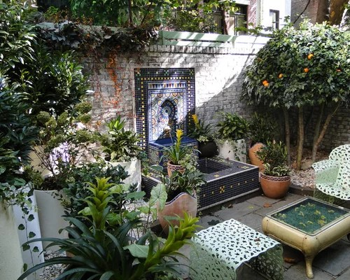 Best Moroccan Garden Design Ideas & Remodel Pictures Houzz