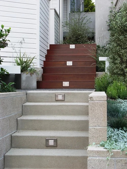 Outdoor Stairs Home Design Ideas Pictures Remodel And Decor | Outside Stairs For House