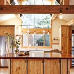 Yellow Pine Kitchen Cabinets Outside Plans Knotty | Houzz