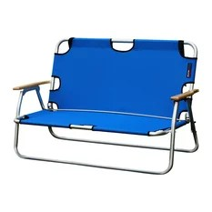two seater lawn chair leather desk 50 most popular traditional outdoor folding chairs for 2019 houzz algoma net company sport couch person aluminum royal blue