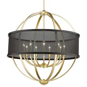 sausalito chandelier transitional