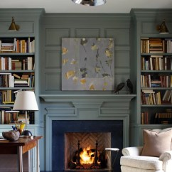 Living Room Design Pictures Remodel Decor And Ideas Christmas For Table Recessed Fireplace Home Ideas, Pictures, ...