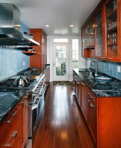 galley kitchen design layout Kitchen Layouts: A Vote for the Good Old Galley