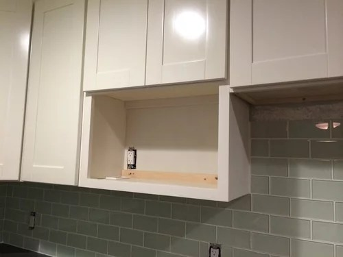 microwave to fit in standard depth cabinet