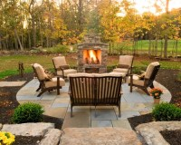 Free Standing Outdoor Fireplace Home Design Ideas ...
