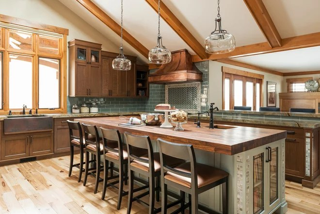 Craftsman Kitchen by Lisman Studio Interior Design