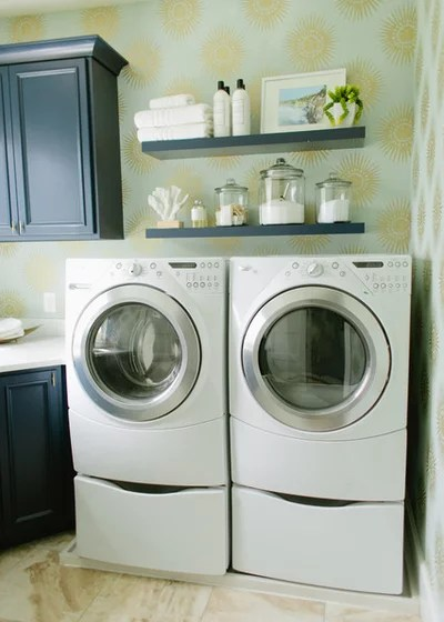 Traditional Laundry Room by House of Jade Interiors