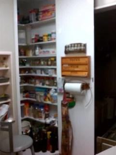 Height Between Pantry Shelves
