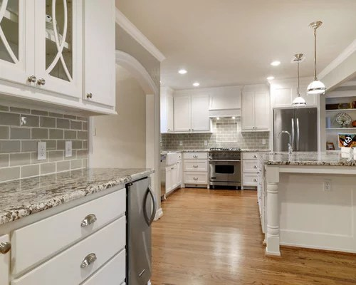 Taupe Subway Tiles  Houzz