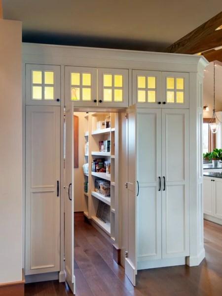hidden kitchen pantry cabinets Hidden Pantry Door Home Design Ideas, Pictures, Remodel