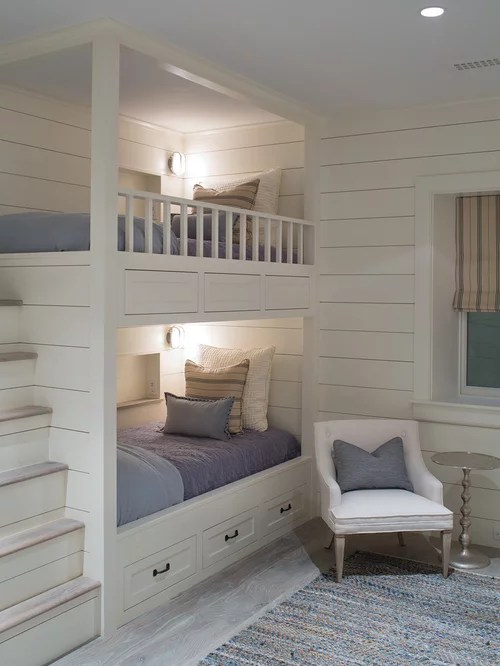 BuiltIn Bunk Beds Ideas Pictures Remodel and Decor
