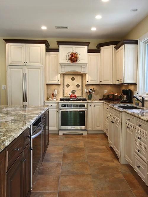 Antique White Espresso Glaze Home Design Ideas Pictures Remodel and Decor