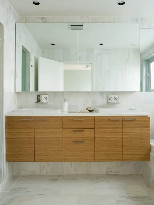 Bamboo Vanity Ideas Pictures Remodel And Decor