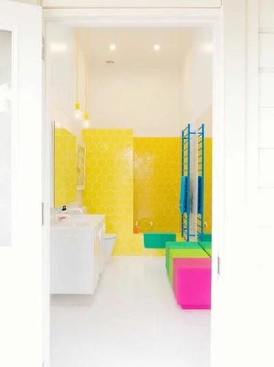 Eclectic Bathroom by Alex Fulton Design