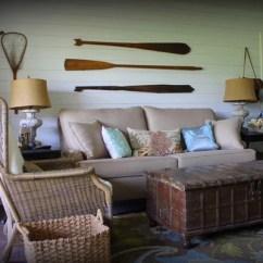 Rustic Cabin Living Room Decorating Ideas U Shaped Lake House | Houzz