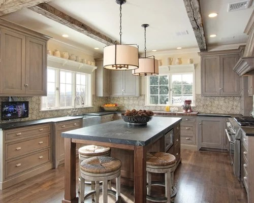 Pickled Cabinet Design Ideas  Remodel Pictures  Houzz