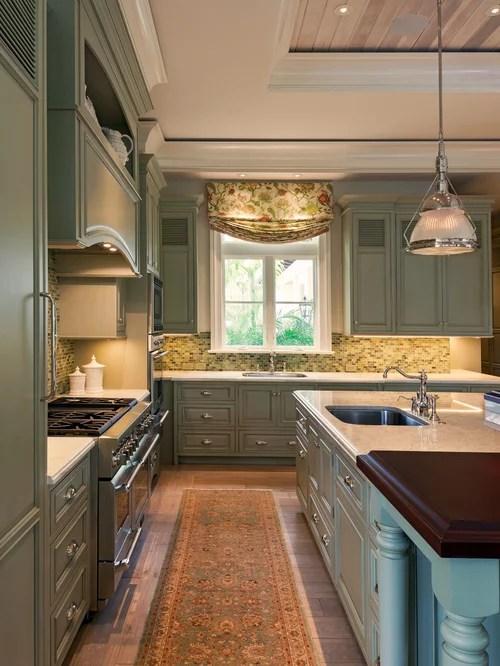 Sage Kitchen Cabinets  Houzz